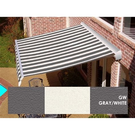 white motorized awning kmart com