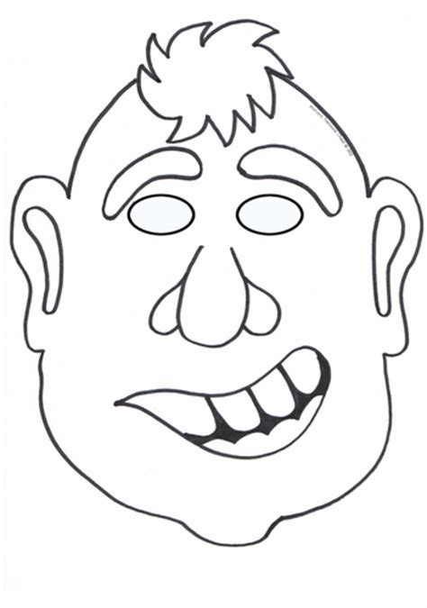 goat mask coloring page the three billy goats gruff colouring in masks by