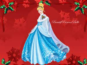 disney princess cinderella merry christmas newlook by beautifprincessbelle on deviantart