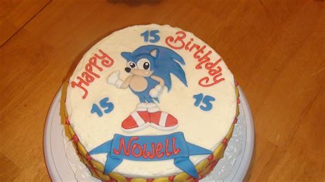 sonic cakes decoration ideas  birthday cakes
