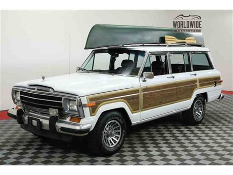 Grand Wagoneer For Sale by 1991 Jeep Grand Wagoneer For Sale Classiccars Cc