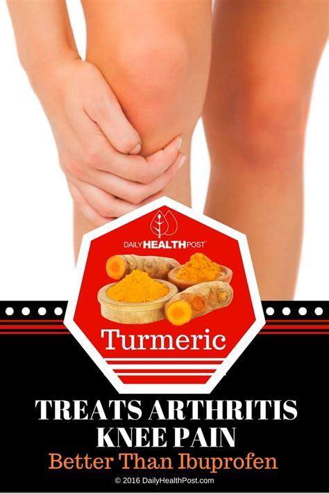 turmeric treats turmeric treats arthritis knee better than ibuprofen