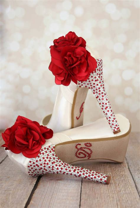 flower shoes ivory heels ivory wedding shoes wedding shoes custom wedding shoes