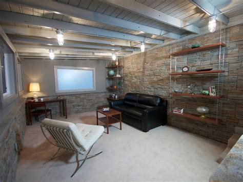 Diy Basement Ceiling Ideas Exceptional Diy Basement 6 Exposed Basement Ceiling Ideas Diy Smalltowndjs