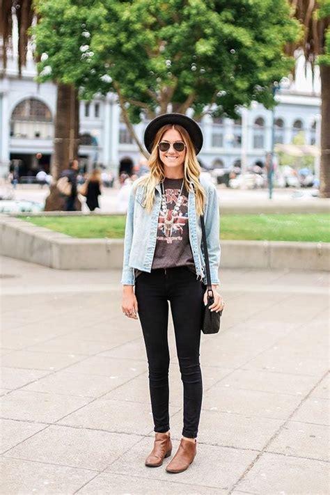 Blazer Denim By 4seasons Babyshop chaqueta de jean pantalones negros camiseta de