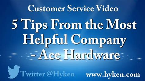 ace hardware customer service 178 best customer service video tips images on pinterest