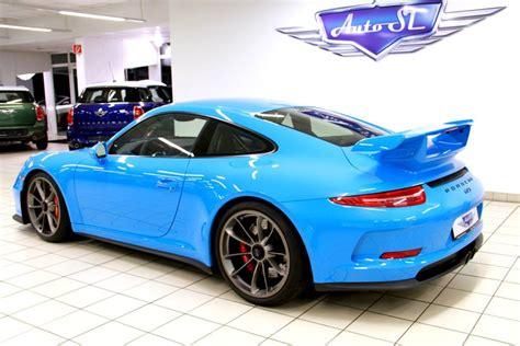 Eye Riviera Blue Porsche 991 Gt3