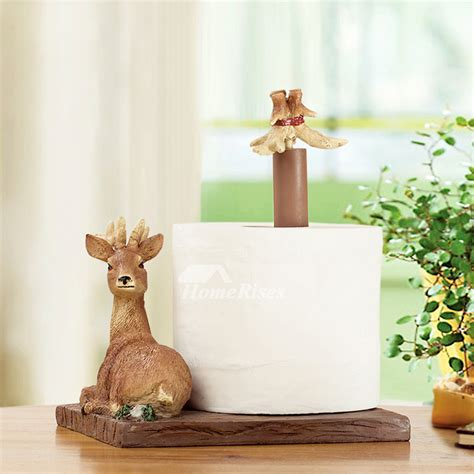 unique free standing toilet paper holder unique decorative free standing deer toilet paper holder