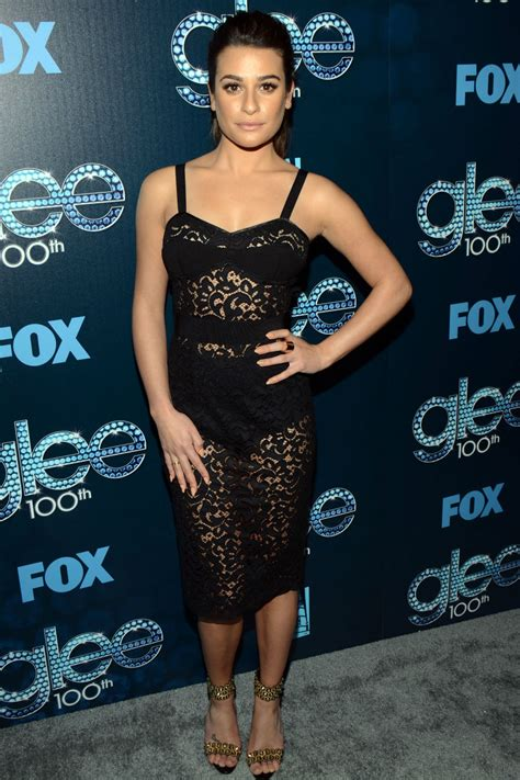 Winslet Celebration Homes lea michele and naya rivera wear duelling see through