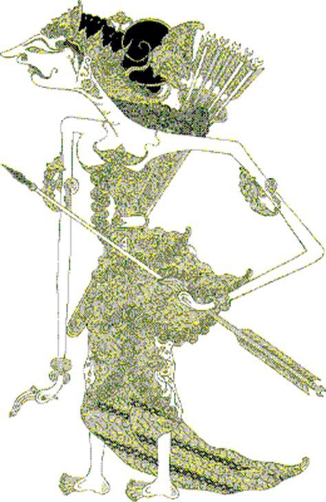 wayang puppets by ybah