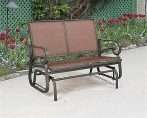 menards outdoor furniture delmar glider at menards dirt