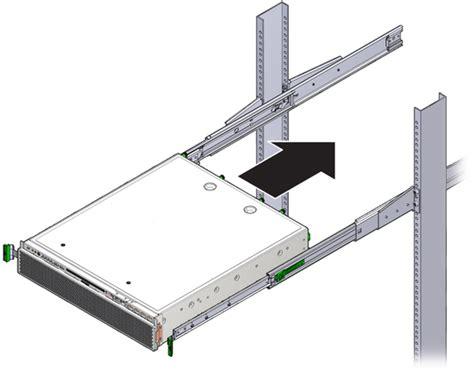 Server Rack Slides by Install A Server 19 Inch 2 Post Sliding Rail Rackmount