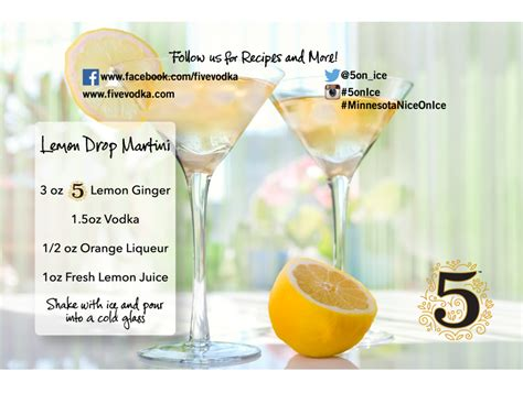 lemon drop martini png hour cocktails 5 infused vodka