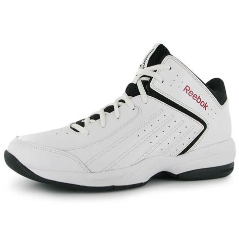 reebok high top basketball shoes reebok mens attack basketball shoes sport trainers