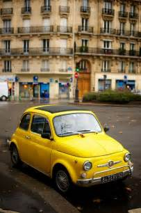 Yellow Fiat Cinquecento Fiat 500 Yellow And Cars On