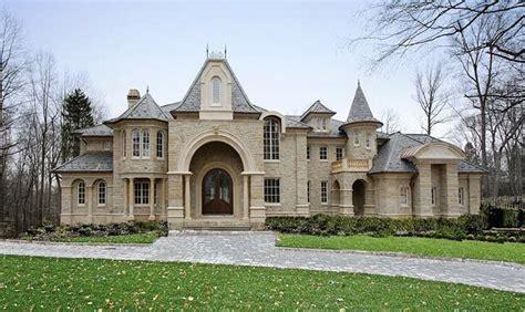 french chateau castle design plan