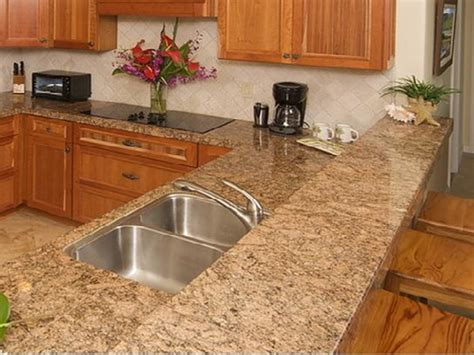 Cherry Home Decor granite countertops bathroom cream cabinets with granite