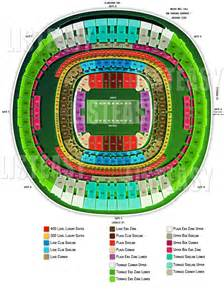 Mercedes Stadium Seating Chart Bowl 2013 Seating Chart Mercedes Superdome