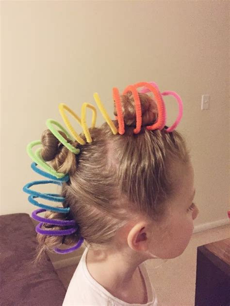 hair day ideas wacky hair styles hair day school stuff hair
