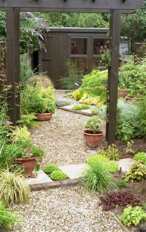 Very Small Xeriscape Cottage Garden Small Mediterranean Garden Ideas