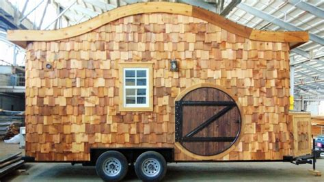 little homes on wheels hobbit house on wheels incredible tiny homes