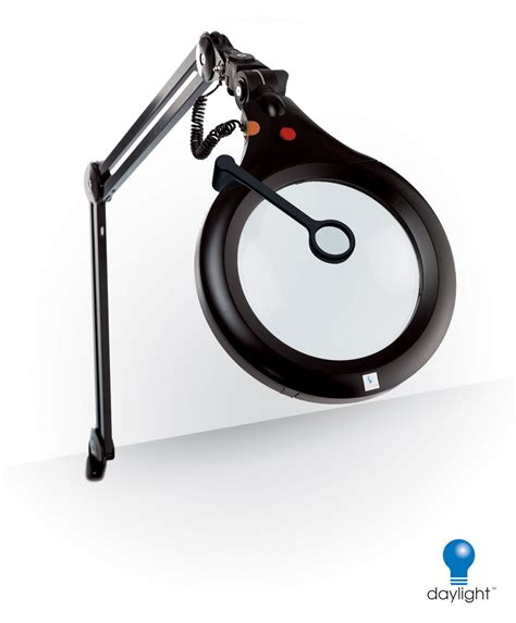 daylight ultra slim magnifying l cl l led clip black portable ultra slim metal