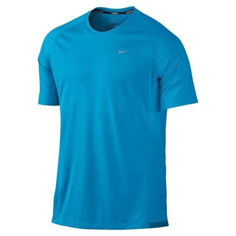 Tshirtt Shirtkaos Nike Run Blue nike miler uv mens running t shirt blue