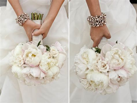 light pink and ivory wedding bouquets beautiful peony bridal bouquet soft ivory light pink