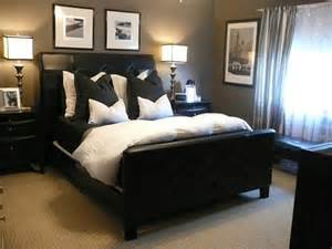 black and white bedding contemporary bedroom hgtv