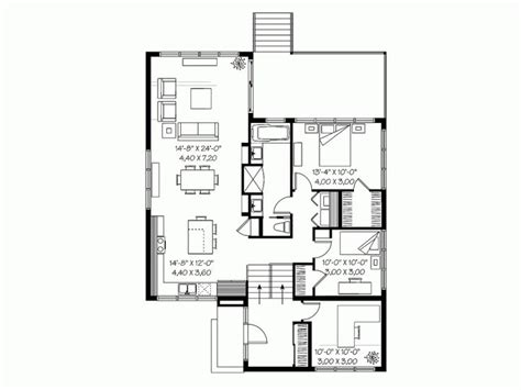 small split level house plans level 1 small house plans pinterest small house plans