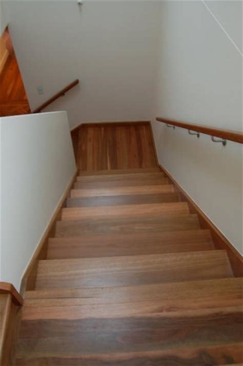 old spotted gum staircase photo hardwood floors