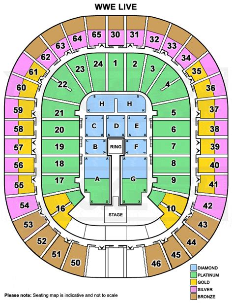 rod laver arena floor plan wwe live touring australia in 2015
