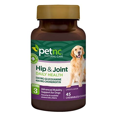 joint medicine for dogs petnc care hip and joint health advanced chewables for dogs 45 count animals