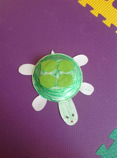 Paper Turtle Craft - turtle crafts and me