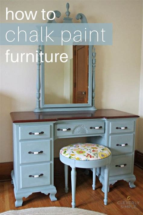 how to chalk paint furniture furniture d epices