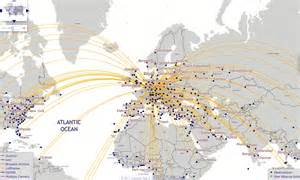 British Airways Route Map by British Airways Route Map 2011 Submited Images