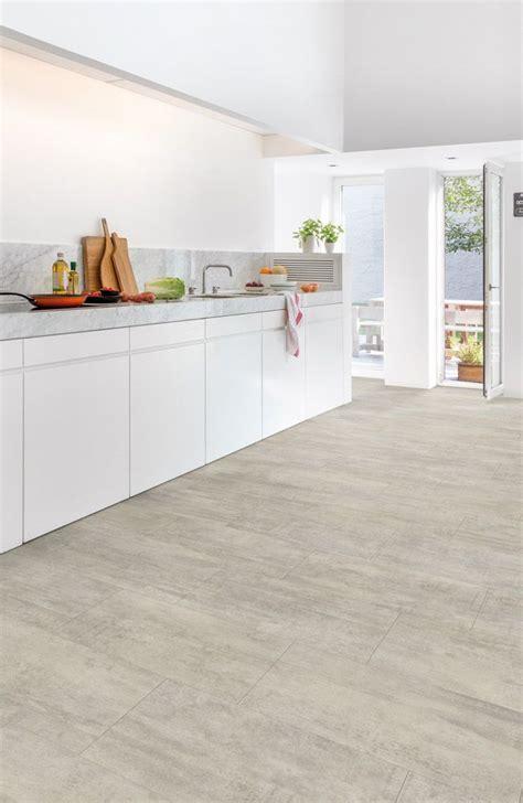 light grey travertine floor tile quickstep livyn ambient light grey travertine amcl40047