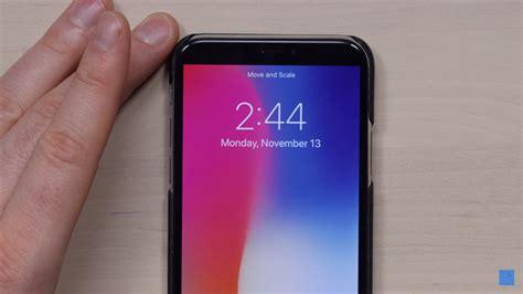 wallpaper hitam pekat tak suka dengan quot jidat quot iphone x begini cara hilanginnya