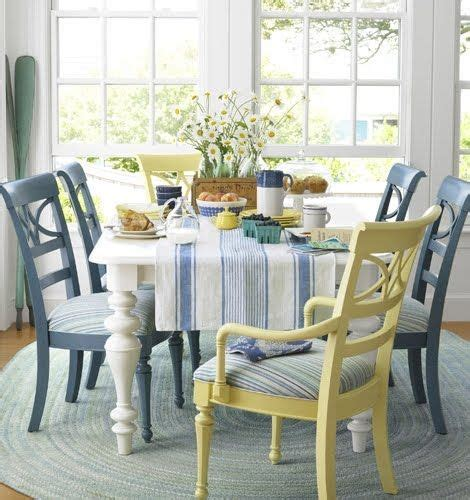 floral dining room chairs seaside cottages in maine usa 99 best images about dining tables chairs chalk paint