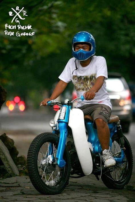 Kaos Honda Astrea Prima modifikasi icub honda cub 70 streetcub