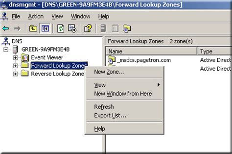 Forward Lookup And Lookup Windows Dns Server Configuration Securitywing
