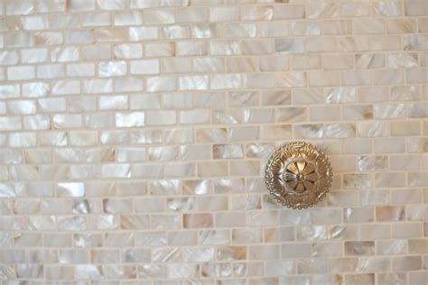 pearl mosaic bathroom tiles pearl mosaic tile spaces beach with accent tile basement