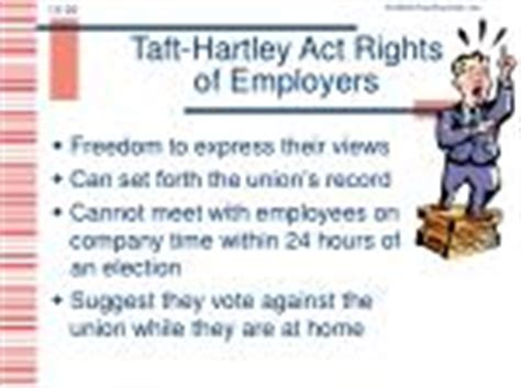 section 14 b of the taft hartley act ppt chapter 14 powerpoint presentation id 258971