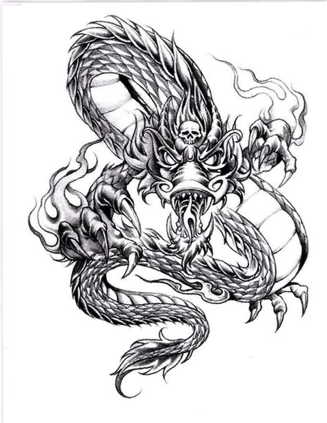 235 best tattoo patterns images on pinterest dragon