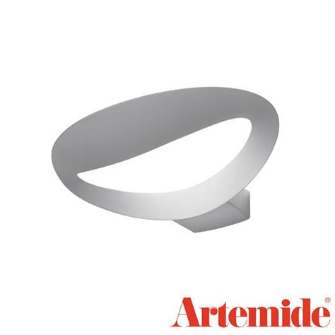 artemide applique mesmeri artemide mesmeri led 28w white applique wall l