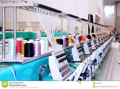 industriele len wit textile machine industrielle de broderie photographie