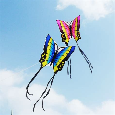butterfly kite children toy outskirts funny game easy