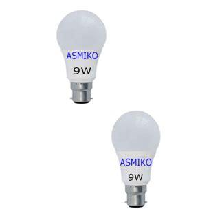 Bohlam Lu Led Emergency Arashi 9 Watt 9w 3 philips base b22 9 watt led bulb cool day light pack of 2 buy philips base b22 9 watt led