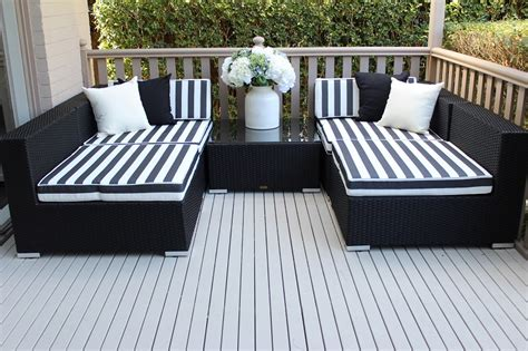 outdoor furniture settings modular wicker setting