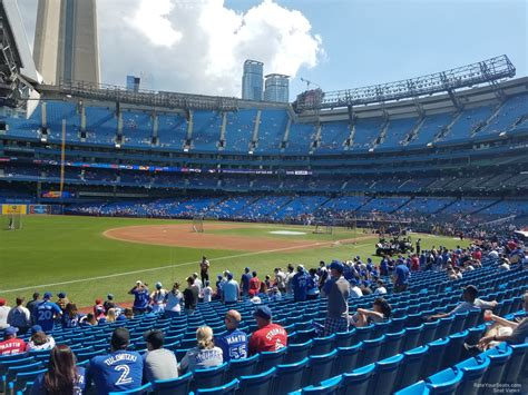 rogers centre section 130b toronto blue jays